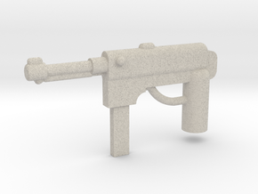 MP40 Minifigure Gun 1.0 in Natural Sandstone