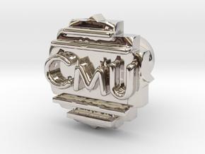 Cufflink Final in Platinum
