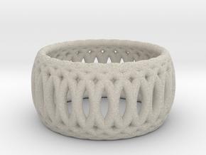 Ring of Rings - 18mm Diam in Natural Sandstone