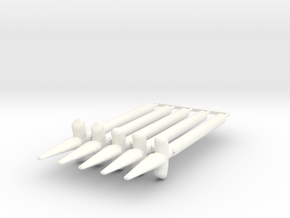 Sun Spear Pack in White Processed Versatile Plastic