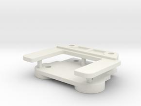 0014 - Top Force J7+11 in White Natural Versatile Plastic