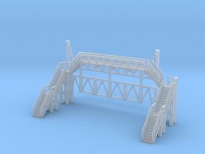 Brücke 1 - 1:220 (Z scale) in Smooth Fine Detail Plastic