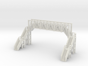 Brücke 1 - 1:220 (Z scale) in White Natural Versatile Plastic