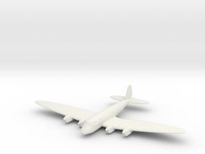 1/200 Heinkel He 116A in White Natural Versatile Plastic