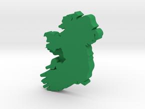 Galway Earring in Green Processed Versatile Plastic