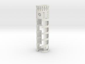 "All-in-1 CF8 / PC4 (20mm) - 1.10"" OD in White Natural Versatile Plastic"