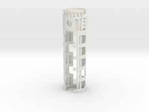 "All-in-1 CF8 / PC4 - 1.10"" OD in White Natural Versatile Plastic"