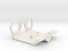 Power Cell Bracket #3 in White Strong & Flexible