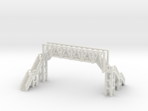 Brücke 2 - 1:220 (Z scale) in White Strong & Flexible