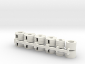 Steel Coils-12 in White Strong & Flexible