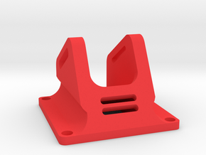 FPV Camera Mount for mini fpv camera from surveilz in Red Processed Versatile Plastic