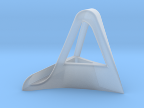 IPad Stand in Smooth Fine Detail Plastic