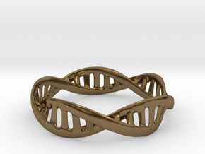 DNA Bracelet (Medium) in Polished Bronze
