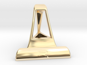 IPad Stand in 14k Gold Plated Brass