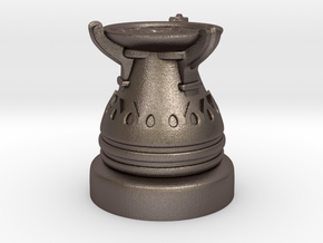 28mm Egyptian Cauldron  in Polished Bronzed Silver Steel