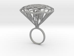 Diamond Bird Steel size 17.5 mm in Aluminum