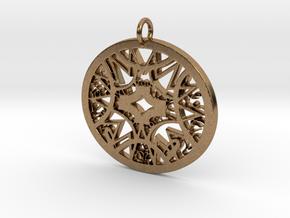 Ornamental #6 in Natural Brass