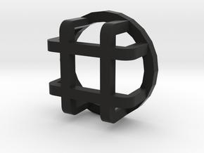 Rear light protector small D90 D110 Gelande 1:10 in Black Natural Versatile Plastic