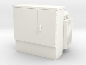 Transformer 01. HO Scale (1:87) in White Processed Versatile Plastic