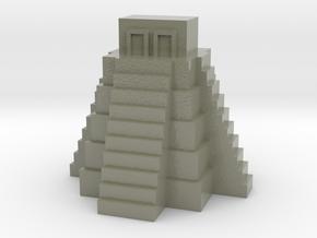 Ziggurat, Mayan Temple in Glossy Full Color Sandstone