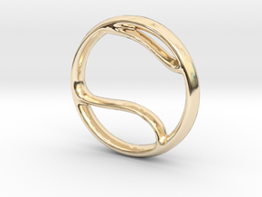 Tennis Charm - 11mm in 14K Yellow Gold