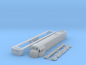 TT Scale U20c in Smooth Fine Detail Plastic