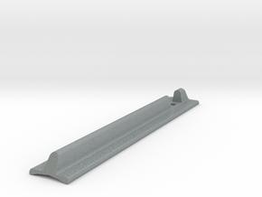 Custom T-Track Grip in Polished Metallic Plastic