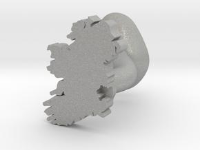 Wicklow Cufflink in Aluminum
