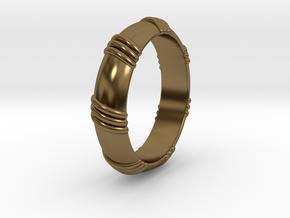 Ø0.650 inch/Ø16.51 mm Ring in Polished Bronze