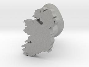Fermanagh Cufflink in Aluminum