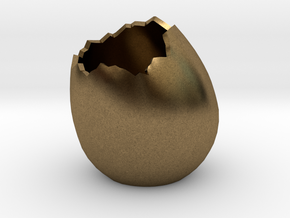 EggShell2 in Natural Bronze