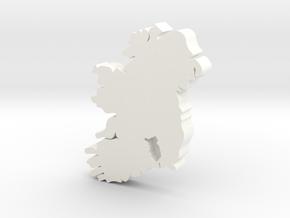 Kilkenny  Earring in White Processed Versatile Plastic