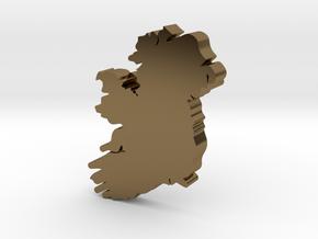 Sligo Earring in Polished Bronze