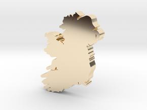 Sligo Earring in 14k Gold Plated Brass