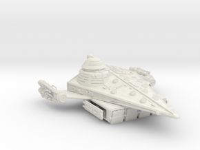 Frontier Assault Carrier in White Natural Versatile Plastic