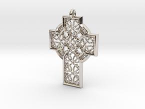 Celtic Cross in Platinum