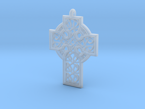 Celtic Cross in Smooth Fine Detail Plastic