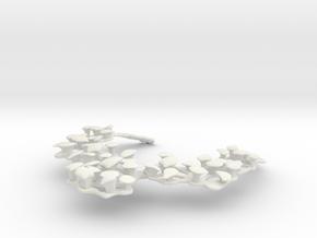 Collana Ciottoli in White Strong & Flexible