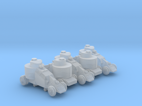 Benz-Mgebrov Armoured Car (6mm, 5up) in Frosted Ultra Detail