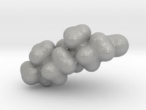 Testosterone electrostatic potential map in Aluminum