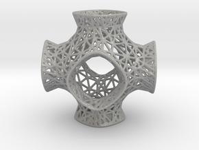 Schwarz Mesh Pattern in Aluminum