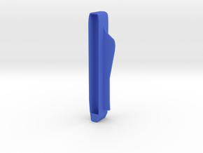 Hinge Ease - External hinge cover for lubrication in Blue Strong & Flexible Polished