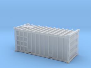 20 Waste Container Edinburgh White (N gauge 1:148) in Smooth Fine Detail Plastic