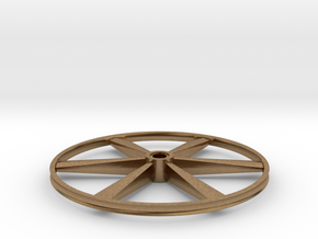 "CHAPP, 1:8 Scale, 26"" Bicycle Wheel, 120904 in Natural Brass"