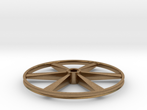 "CHAPP, 1:8 Scale, 24"" Bicycle Wheel, 120904 in Natural Brass"