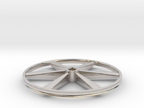 """CHAPP, 1:8 Scale, 24"""" Bicycle Wheel, 120904 in Platinum"""