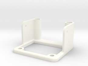 Camera holder baseplate for ZMR250 in White Processed Versatile Plastic