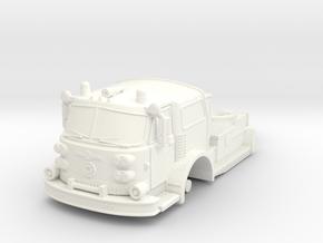 1/64 ALF TDA Tractor in White Processed Versatile Plastic