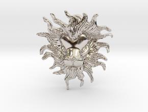 Leo Pendant in Platinum