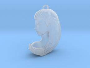 Virgo Pendant in Smooth Fine Detail Plastic